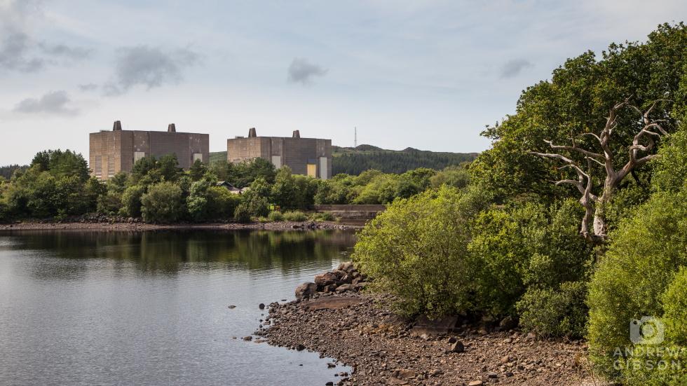 Trawsfynydd Power Station & Lake