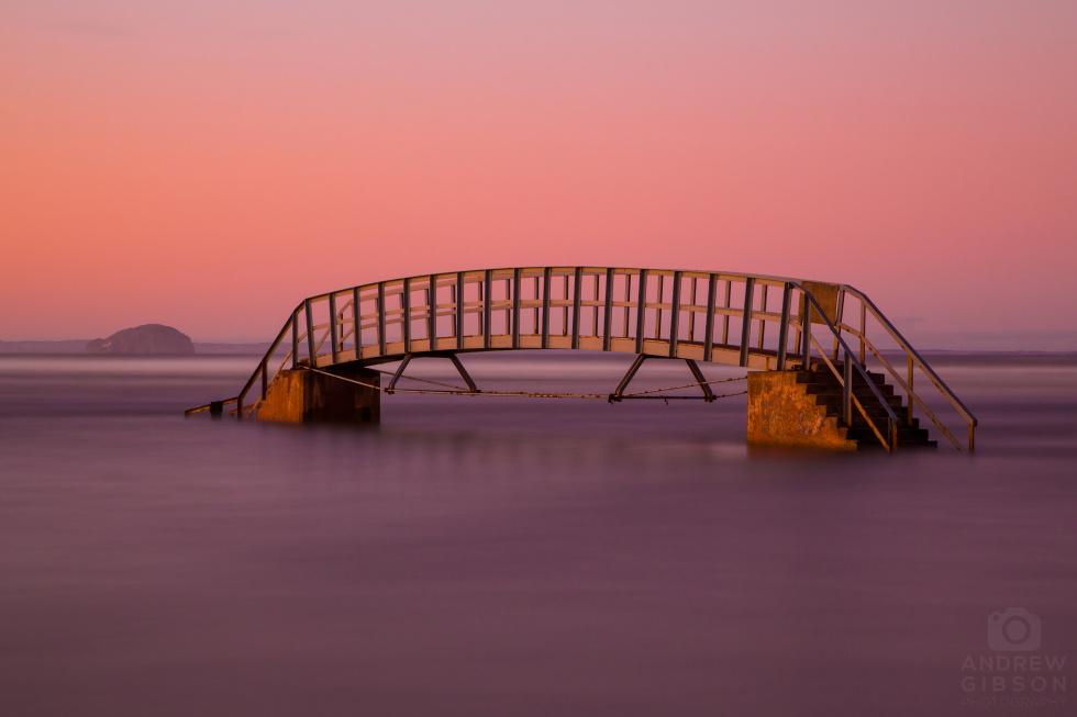 Belhaven Bridge long exposure